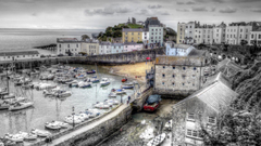 Other Lovely Tenby Harbour Wales Gray United Kingdom City Seaside