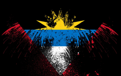 Eagles hawk flags antigua and barbuda wallpapers