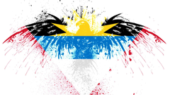 Eagles hawk flags antigua and barbuda wallpapers