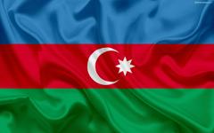 wallpapers Azerbaijan flag Asia Azerbaijan symbols