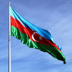 Azerbaijan Flag WeNeedFun