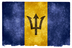 Barbados Grunge Flag HD Wallpapers