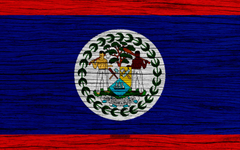 wallpapers Flag of Belize 4k North America wooden