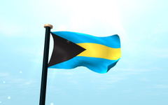 Bahamas Flag 3D for Android