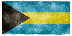 Bahamas Grunge Flag HD Wallpapers