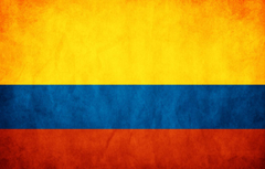 Wallpapers flag flag Colombia Republic of Colombia flag image for