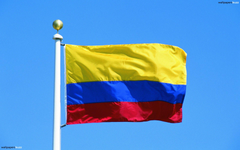 The flag of Colombia HD Wallpapers