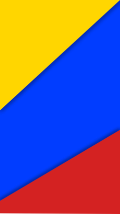 colombia Material style Flag HD Wallpapers Desktop and Mobile