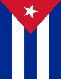 cuba flag full page