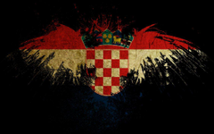 Croatian Grudge Flag by mikimario
