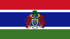 Wappen Gambia 1920x1080 HD Wallpapers Hintergrundbild