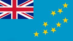 Tuvalu Flag UHD 4K Wallpapers