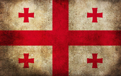 Georgian Flag Country Wallpapers
