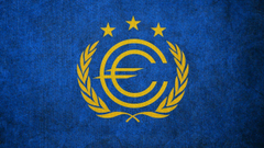 FALLOUT Flag of the European Commonwealth by okiir