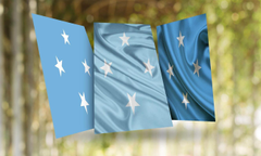 Micronesia Flag Wallpapers for Android