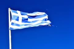 Wind Sky Greece Flag cloud