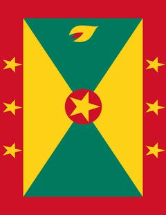 grenada flag full page