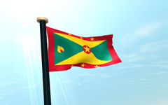 Grenada Flag 3D Wallpapers for Android