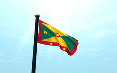 Grenada Flag 3D Live Wallpapers