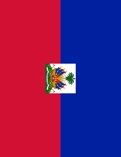 haiti flag full page