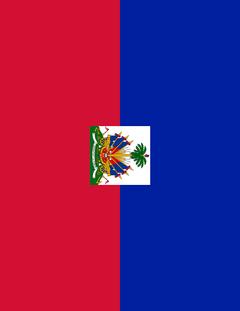 haiti flag full page