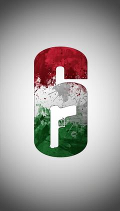 Rainbow Six Siege Hungarian Flag Logo Wallpapers