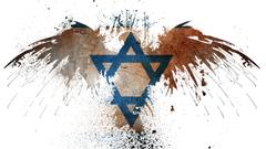 Israeli flag the eagle Desktop wallpapers 1920x1080