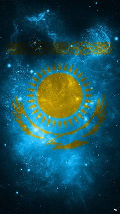 Kazakhstan Flag KZ Wallpapers by MhmtGlyn