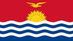 Kiribati Flag UHD 4K Wallpapers