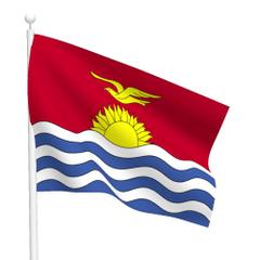 Graafix Wallpapers Flag of Kiribati