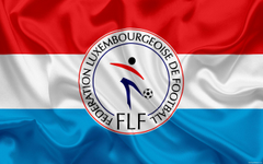 wallpapers Luxembourg national football team emblem logo