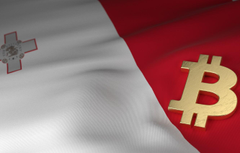 Wallpapers blur flag Malta bitcoin malta bitcoin image for