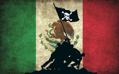 Anonymous pirates flags Mexico hackers wallpapers