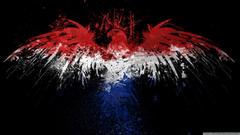 Dutch Flag with Eagle 4K HD Desktop Wallpapers for 4K Ultra HD TV