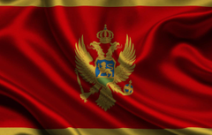 Wallpapers Red Flag Coat of arms Texture Flag Montenegro Eagle