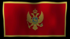 Montenegro Flag 4K Motion Loop After Effects Template