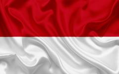 wallpapers flag of Monaco Europe silk flag Monaco for