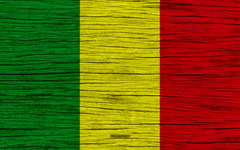 wallpapers Flag of Mali 4k Africa wooden texture Malian