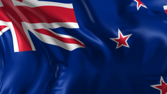 Beautiful New Zealand Country National Flag Wallpapers