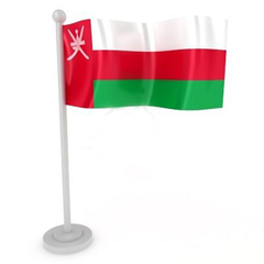 Graphics Wallpapers Flag Of Oman Omani National Flag In Graphic