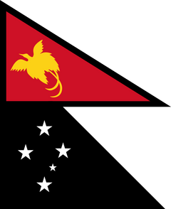 Papua New Guinea in the style of Nepal