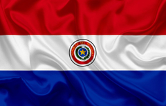 Wallpapers background flag coat of arms fon flag Paraguay