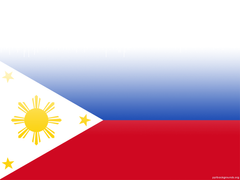 Philippine Flag Backgrounds For PowerPoint