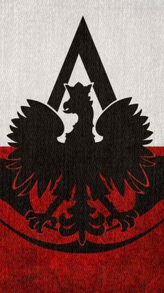 Assassins creed flags poland logos polish flag eagle wallpapers