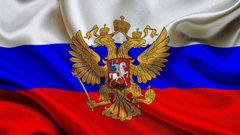 russia flag coat of arms russian flag the flag of the russian
