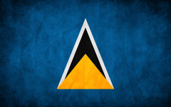 Saint Lucia Countries Flag Wallpapers