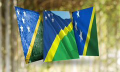 Solomon Islands Flag Wallpapers for Android
