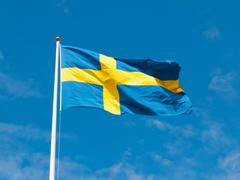 Himmel Sweden Swedish Flag Flag flag patriotism image