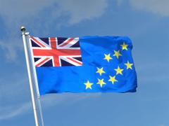 the flag of tuvalu