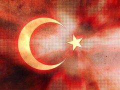 Turkish Flag Backgrounds For PowerPoint